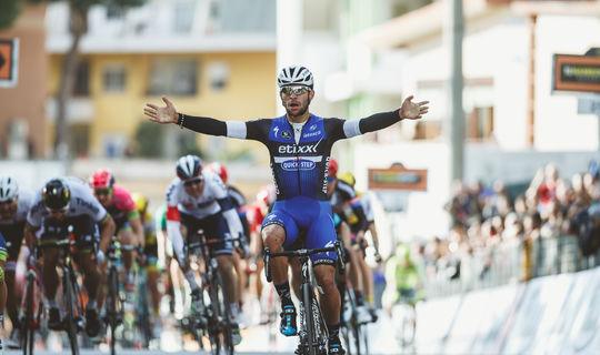 Gaviria`s first World Tour win