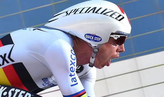 Tour du Poitou Charentes: Martin leider na 3e plaats in tijdrit
