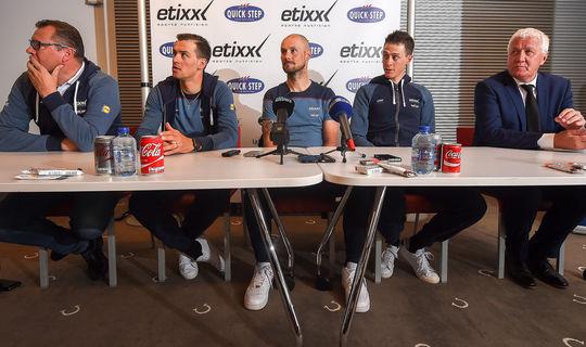 Etixx – Quick-Step ready for Paris-Roubaix