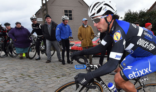 Top 10 for Gaviria in Dwars door Vlaanderen