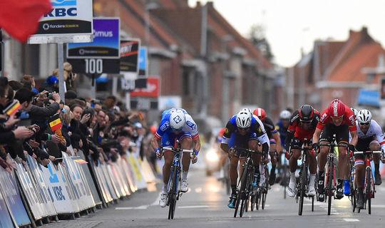 Gaviria notches top 10 in Gent-Wevelgem