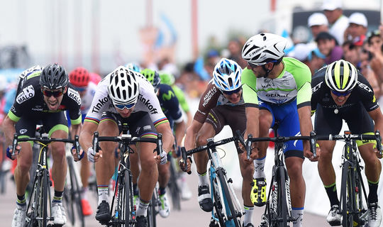 Gaviria comes second in La Punta