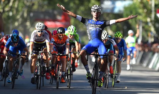 Fernando Gaviria wins in Villa Mercedes