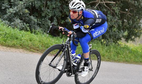 Stybar on the attack in Algarve